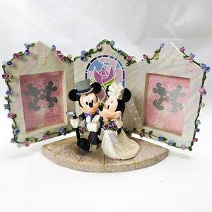 Disney Wedding Mickey Minnie Figurine Picture